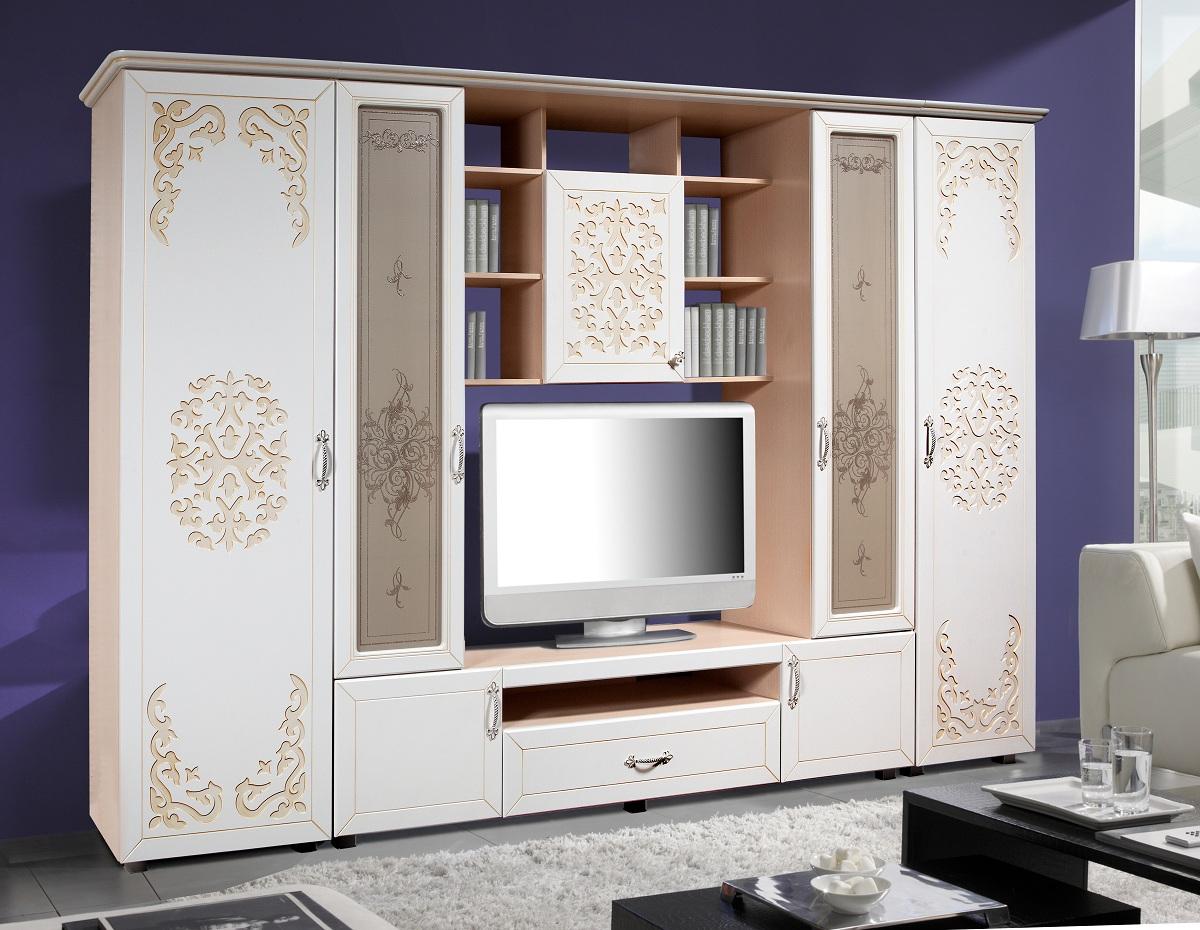 Шкаф-комбинированный-Нежность-КМК-0412