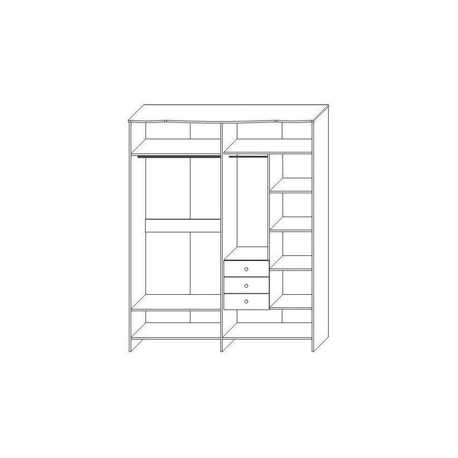Шкаф-4Д 0363,6